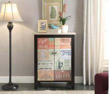 Anthology Coffee Sign 2 Door Chest