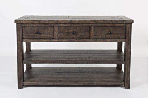 Madison County Sofa/media Table - Barnwood