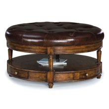 Heirloom Cocktail Ottoman