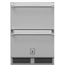 "24"" Hestan Undercounter Refrigerator Drawer and Freezer Drawer - GRF Series"