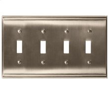 Candler 4 Toggle Wall Plate