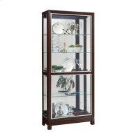 Park Avenue Nickel Inlay Display Cabinet Product Image