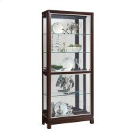 Park Avenue Nickel Inlay Display Cabinet Product Image