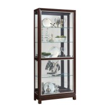 Park Avenue Nickel Inlay Display Cabinet