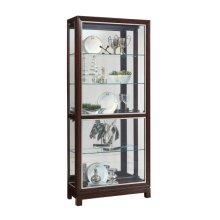 Park Avenue Nickel Inlay Display Cabinet