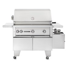 "36"" ADA with Rotisserie Grill LP"