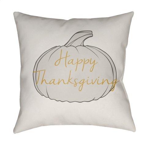 "Happy Thanksgiving HPY-001 18"" x 18"""