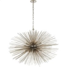 Visual Comfort KW5074PN Kelly Wearstler Strada 20 Light 38 inch Polished Nickel Pendant Ceiling Light, Kelly Wearstler, Medium, Oval