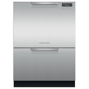 Fisher & PaykelDouble DishDrawer Dishwasher, Tall, Sanitize