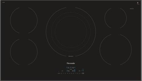 36-Inch Masterpiece® Induction Cooktop, Black, Frameless CIT365TB