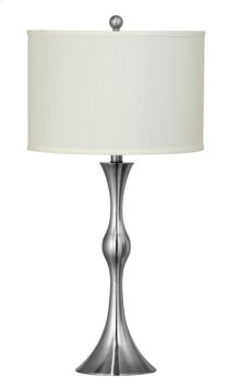 150W 3 way Parma metal table lamp