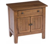 Attic Heirlooms Door Nightstand