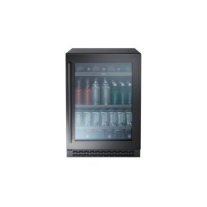 "Zephyr24"" Single Zone Beverage Cooler - Black Stainless"