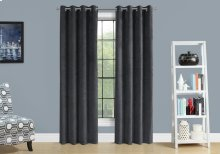 "CURTAIN PANEL - 2PCS / 52""W X 84""H GREY ROOM DARKENING"