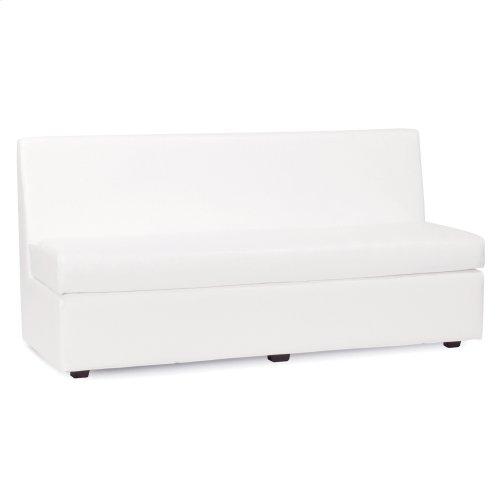 Slipper Sofa Atlantis White