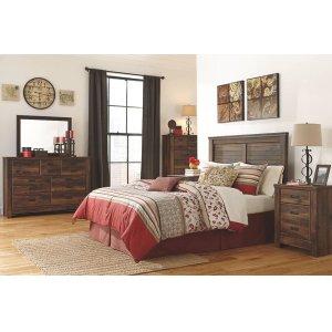 Ashley Furniture4-PC Bedroom Group: Queen Panel Headboard, Dresser, Mirror, & Nightstand