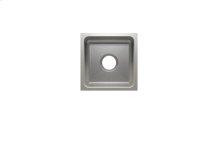 "Classic 003212 - undermount stainless steel Bar sink , 12"" × 12"" × 7"""