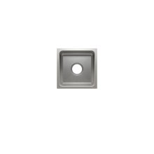 "Classic 003212 - undermount stainless steel Bar sink , 12"" × 12"" × 7"""