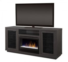 Swayze Media Console Electric Fireplace