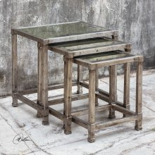 Keanna Nesting Tables, S/3