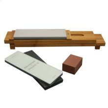 ZWILLING KRAMER Acessories 6-pc Glass Water Stone Sharpening Set