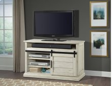 """55"""" TV Console With Sliding Doors"""