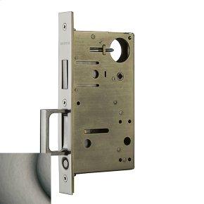 Antique Nickel 8602 Pocket Door Lock with Pull