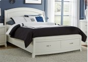 Queen Storage Footboard & Slat Pack