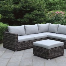Lavana Patio Sectional W/ Ottoman