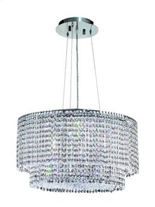 1298 Moda Collection Hanging Fixture Chrome Finish