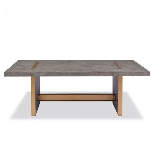 Brice Dining Table - Grey Wash