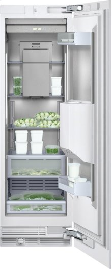"""Freezer column RF 463 702 Fully integrated appliance Width 24"""" (61 cm) Right-hinged"""