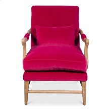 Palmer Chair, Rose Red