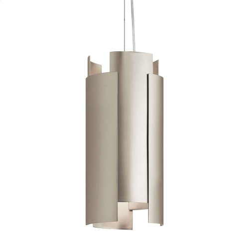 Moderne LED Mini Pendant Satin Nickel