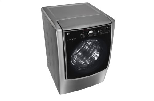 9.0 cu.ft. Mega Capacity TurboSteam Gas Dryer w/ On-Door Control Panel