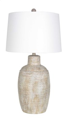Coppery Jug Table Lamp