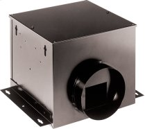 Single-Port Remote In-Line Ventilator, 110 CFM, 1.0 Sone