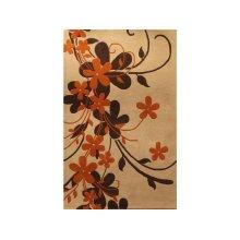 England Floor Coverings Artisan Moonglow 2701 Cream 5' x 8' Rectangle 10722