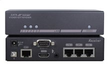 The Optoma EVBMN-M110 HDBaseT transmitter / receiver pair