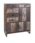 Bekki Reclaimed Wood Multi Door Storage Chest Product Image