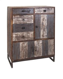Bekki Reclaimed Wood Multi Door Storage Chest