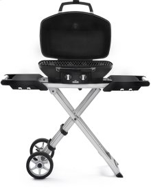 PRO 285 X Black Portable Gas Grill with Scissor Cart