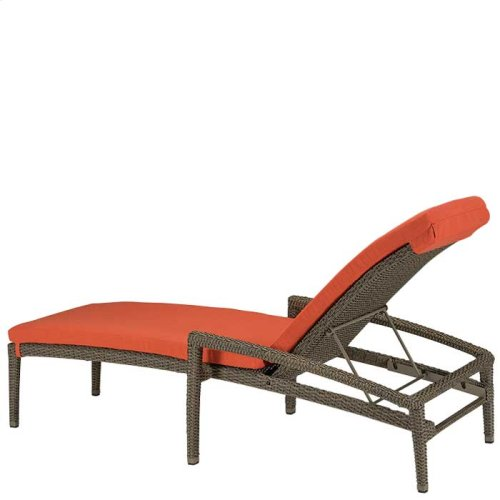 Evo Woven Chaise Lounge with Full Pad