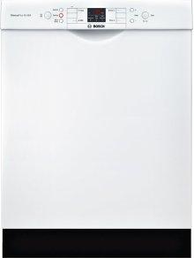 "ADA 24"" 300 Series Recessed Hndl, 4/4 Cycles, 46 dBA, RckMatic, 14 Pl Stgs - WH"