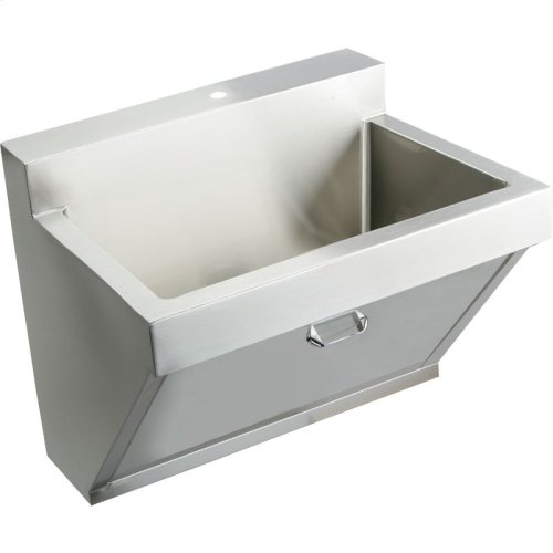 "Elkay Stainless Steel 30"" x 23"" x 11"", Wall Hung Single Bowl Surgeon Scrub Sink"