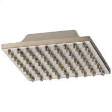 Stainless Single-Setting Metal Raincan Shower Head