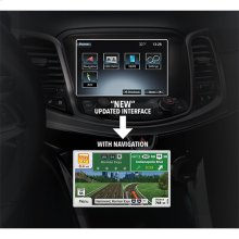 Next Generation Fully Integrated Navigation System For GM Branded Vehicles