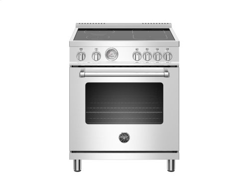 30 inch Induction Range,4 Heating Zones, Electric Oven Stainless
