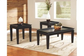 Delormy 3 Piece Table Set