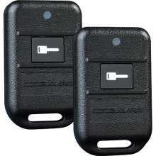 Remote start system with single button transmitter